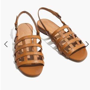 Madewell Rowan Cage Sandals